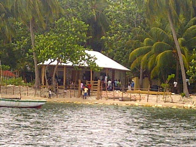 The Ile a Vache base