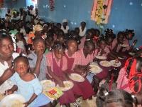 Feeding nearly 600 people