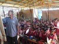 Class in the Pelerin school