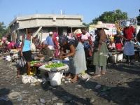 Market in Croix des Bouquettes