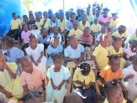 Children from Chapelle school