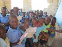 Children in the Robia school.