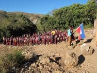 Opening ceremony at Pelerin school