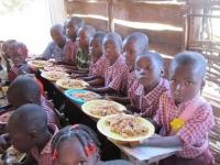 Pelerin school lunch time