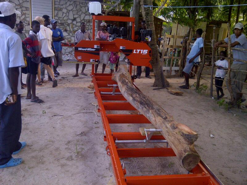 Cutting a boat keel