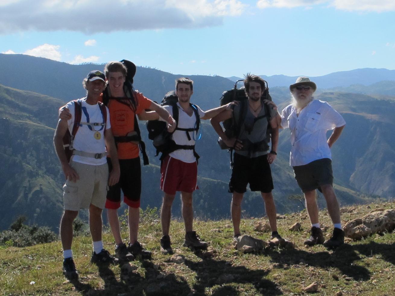 Adventurers on the way to Calalou