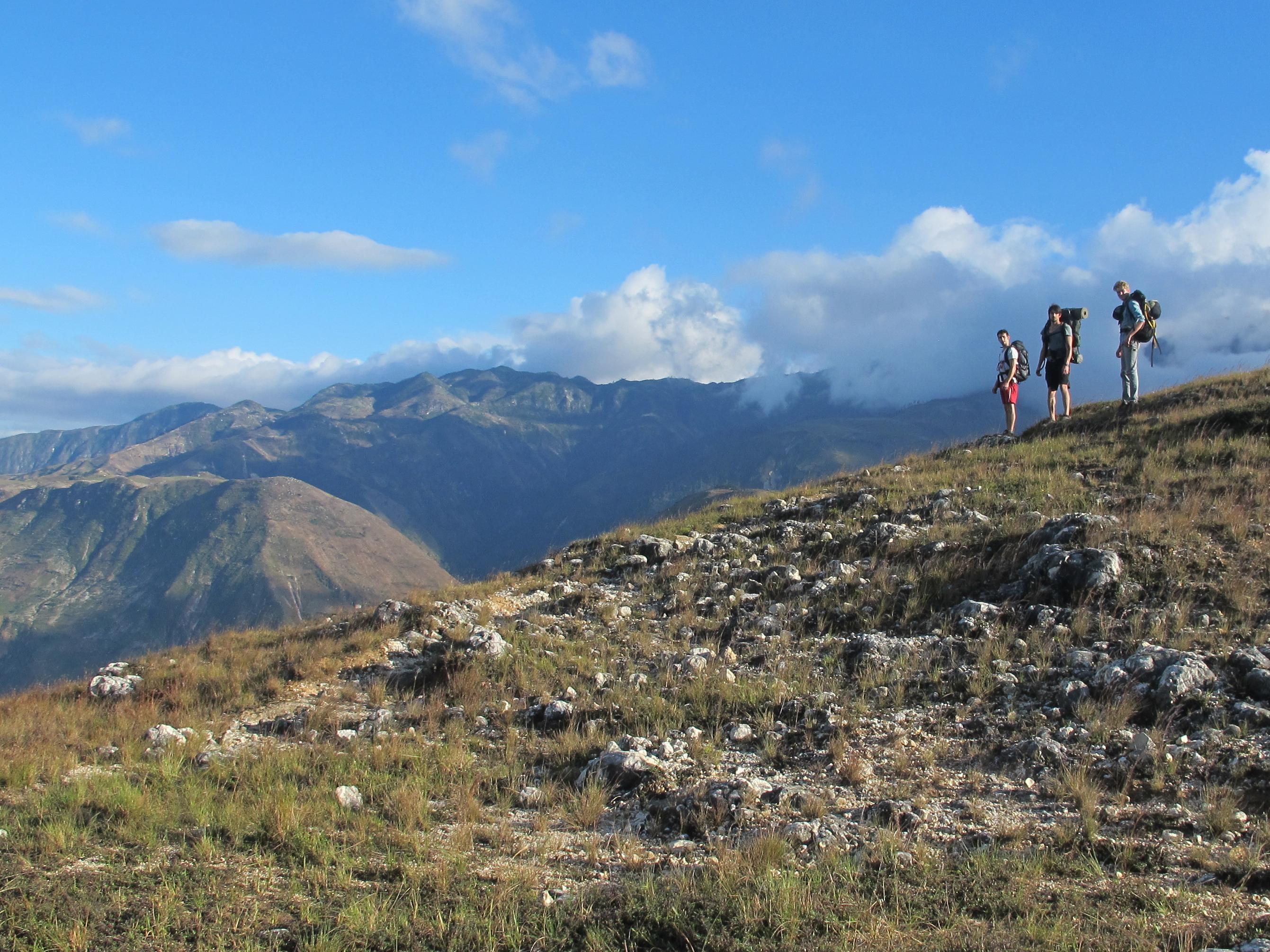 Beautiful vistas on the trail