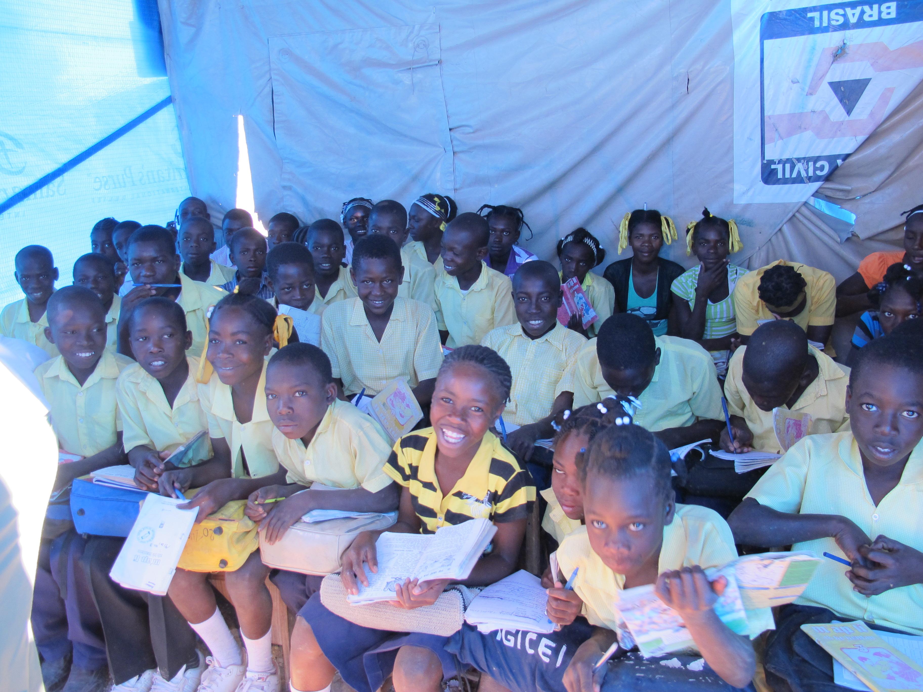 School children of Chapelle