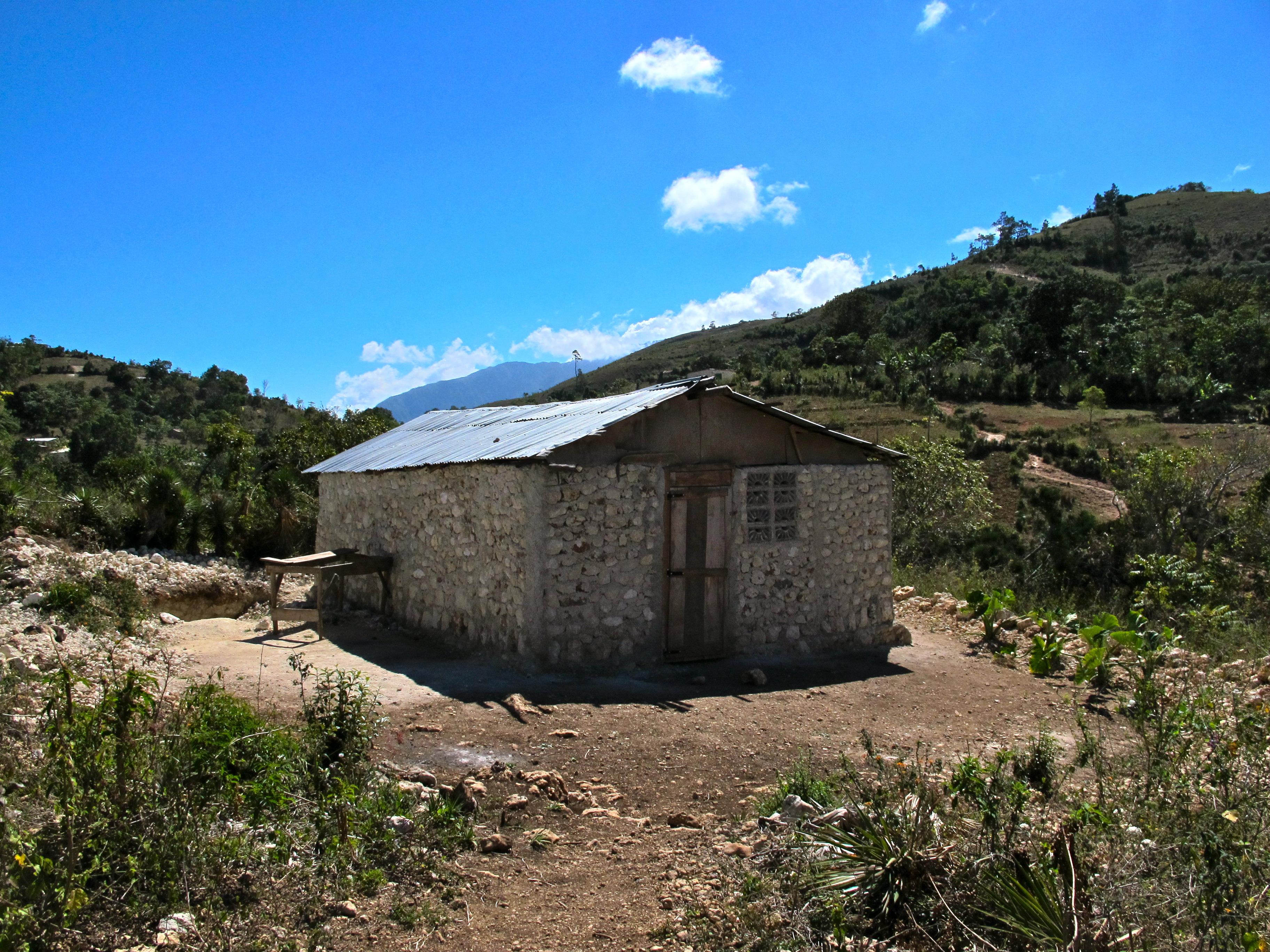 New little church building in Pelerin