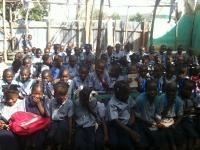 School children in Calalo.